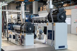 MEAF extrusion line